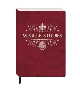 HP merch Harry Potter A5 Notebook Muggle Studies