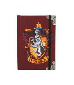 HP merch Harry Potter A6 Notebook Gryffindor