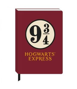 HP merch Harry Potter A5 Notebook Platform 9 3/4