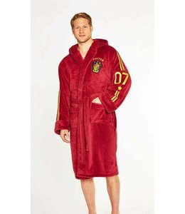 HP merch Harry Potter Fleece Bathrobe Quidditch