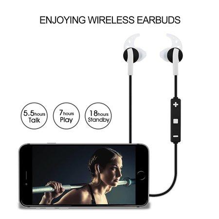 Caramello Caramello Bluetooth Drahtloser In–Ear–Sportkopfhörer / In–Ears / Stöpsel / Kabellose Kopfhörer / Ohrhörer / Kopfhörer mit Mikrofon| Geeignet für Laufen und Sport | Drahtlose Reichweite bis 10 Meter