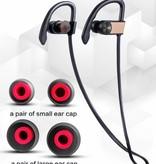 Merkloos Draadloze Sport Headset   Wireless Koptelefoon   Bluetooth Sport Oortjes Waterproof   Waterafstotende Sport Oordopjes met Ingebouwde Microfoon