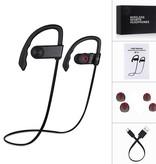 Merkloos Draadloze Sport Headset | Wireless Koptelefoon | Bluetooth Sport Oortjes Waterproof | Waterafstotende Sport Oordopjes met Ingebouwde Microfoon