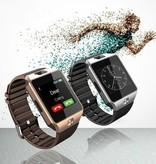 Merkloos Smartwatch Android Met HD Camera en Microfoon | Met SIM-slot voor Bellen, Whatsappen, E-mail Checken | HD Touchscreen | Bluetooth