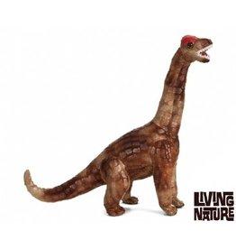 Living Nature Knuffel Brachiosaurus Bruin