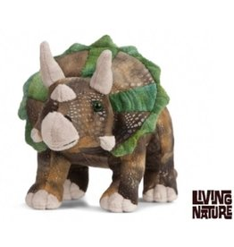 Living Nature Knuffel Triceratops