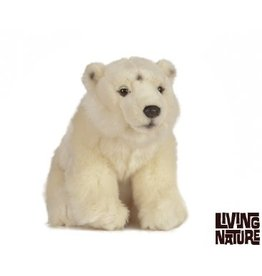 Living Nature Knuffel IJsbeer, 30 cm