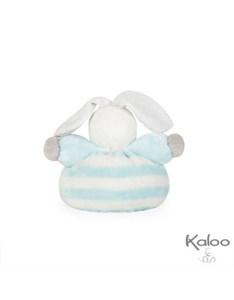 Kaloo Bebe Pastel Kaloo Bebe Pastel - Knuffelkonijn blauw/wit middelgroo