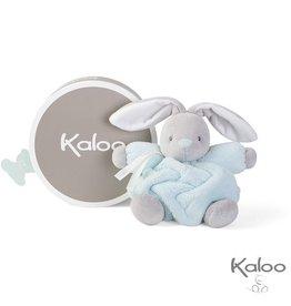 Kaloo Plume Knuffelkonijn aquablauw, 18 cm