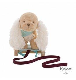 Kaloo Les Amis Trekfiguur Knuffel Hond