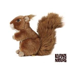 Living Nature Knuffel Eekhoorn