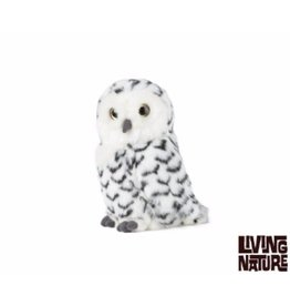 Living Nature Knuffel Sneeuwuil