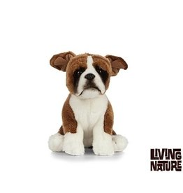 Living Nature Knuffel Hond Boxer, 24 cm