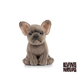 Living Nature Knuffel Franse Buldog, 15 cm