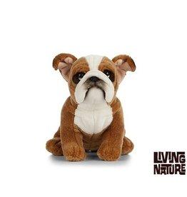 Living Nature Bulldog Knuffel, 24 cm