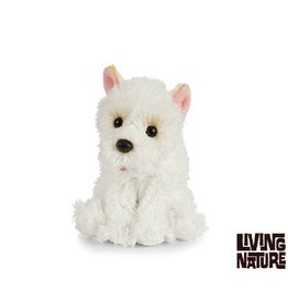 Living Nature Westie Knuffel, 15 cm