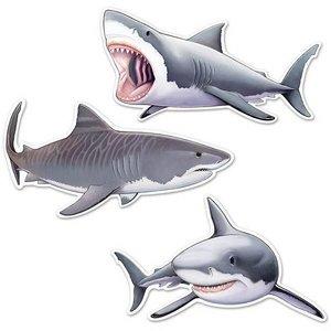 Decoratie Haaien groot