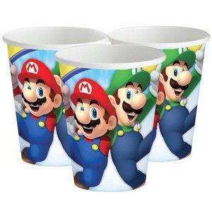 Bekertjes Super Mario 8 stuks