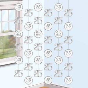 Hangdecoratie 25 happy years