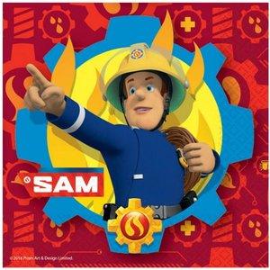 Servetten Brandweerman Sam