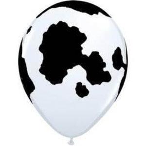 Ballon met koe vlekken 5 stuks