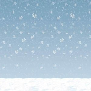 Scenesetter Sneeuwvlokken groot