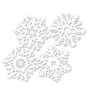 Feestdecoraties Sneeuwvlokken