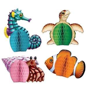 Tafeldecoraties zeedieren