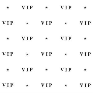 Wanddecoratie VIP