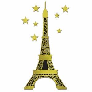 Decoratie Eiffeltoren luxe jumbo