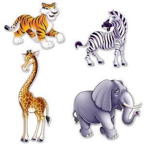 Decoratie Jungle dieren