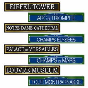 Decoratie Signs Parijs