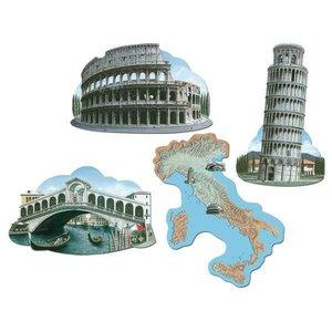 Decoratie Italie 4 stuks