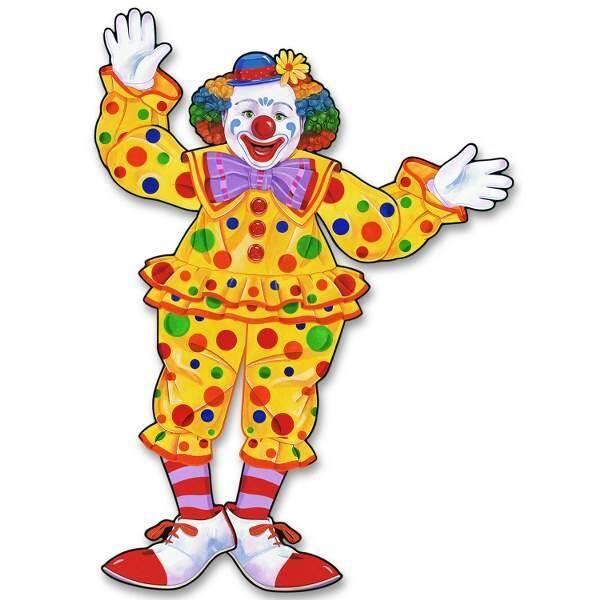 Decoratie Circus Clown