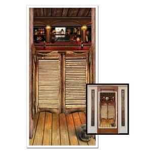 Deurposter Western Saloon