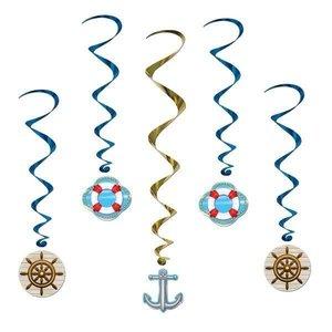 Hangdecoratie Cruise Ship whirls