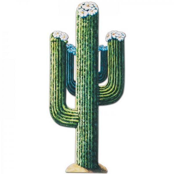 Decoratie cactus groot