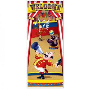 Deurposter Circus Welcome