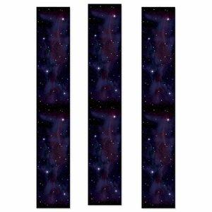 Party Panels sterrenhemel 3 stuks