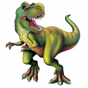 Dinosaurus decoratie Tyrannosaurus MEGA