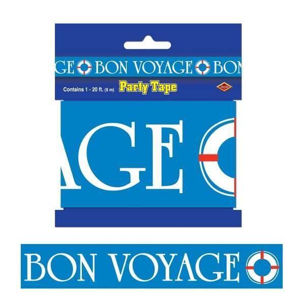 Party tape Bon Voyage