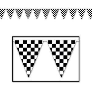 Vlaggenlijn Finish vlag 6 meter