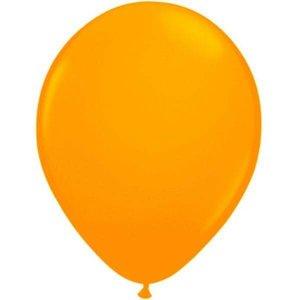 Fluor ballonnen oranje 8 stuks