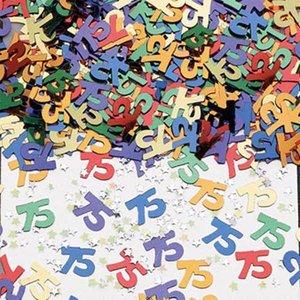 Confetti glitter 75 jaar