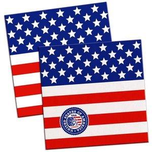 Servetten USA Stars en Stipes