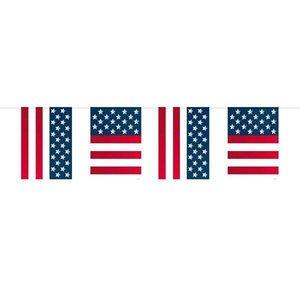 Vlaggenlijn USA rechthoekig