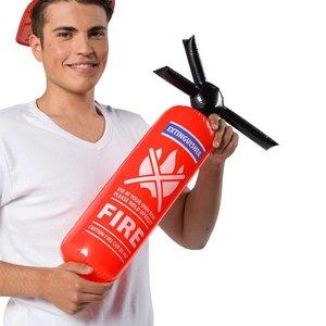 Opblaasbare brandblusser