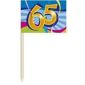 Prikkers 65 jaar 50 stuks