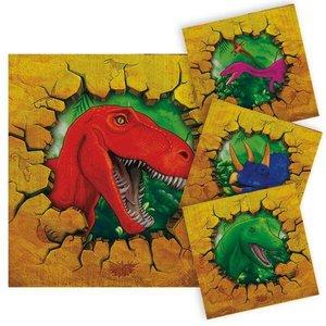 Servetten Dinosaurus