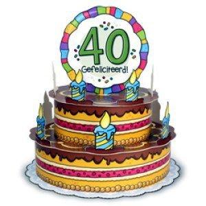 Gefeliciteerd 40 Jaar Verjaardag